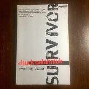 """Chuck Palahniuk """"Survivor"""""""
